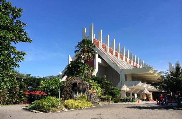 Sabah-State-Museum, кота-канибалу, малайзия, борнео